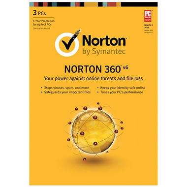Norton 360 V6 - PC