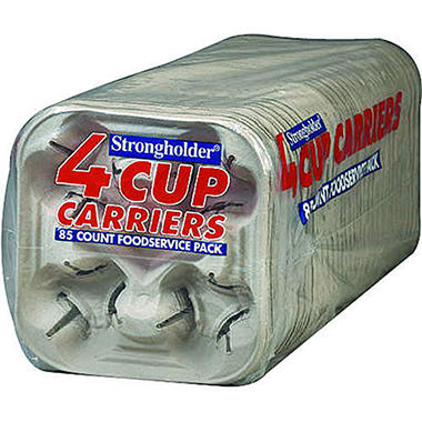 Strongholder® 4 Cup Carriers - 85ct