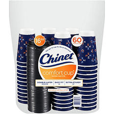 Chinet Comfort Cup and Lids (60 ct. each)