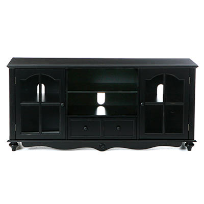 "Antique Black Cambridge 52"" TV Cabinet"