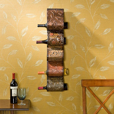 Tuscan Wall Art Wine Storage