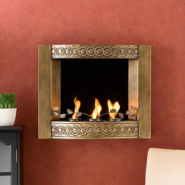 Olympia Wall Mounted Fireplace