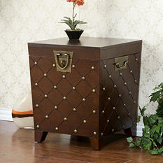 Marquise Trunk End Table