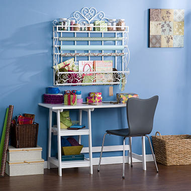 "Craft Room 34"" Wall Rack"
