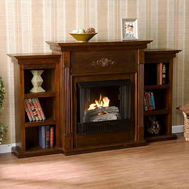 Emerson Gel Fuel Fireplace - Espresso