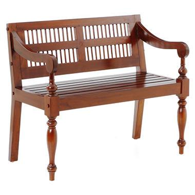 Hardwood Bench - Mahogany