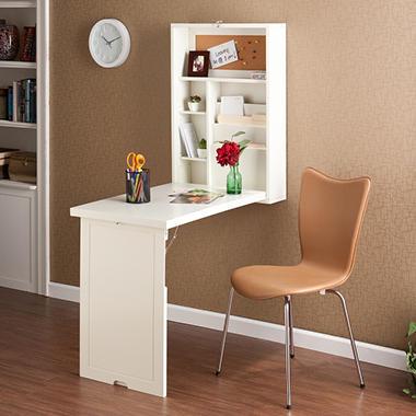 Craft Room Wall Mount Desk