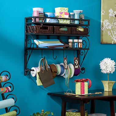 "Craft Room 26"" Wall Rack"