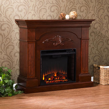 Electric Fireplace - Your Choice of 2 Styles