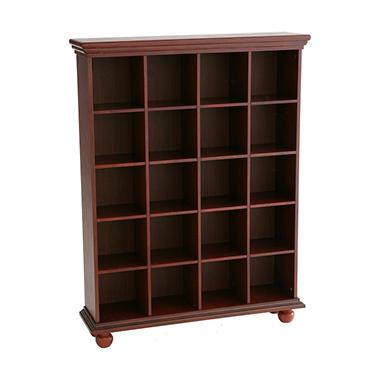 20 Cube Media Storage Shelf