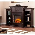 Emerson Electric Fireplace - EspressoImage