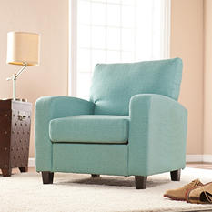 Edgewater Arm Chair-Turquoise