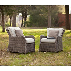 Dorchester Outdoor Chairs 2-Piece Set