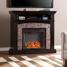 Hastings Electric Fireplace Media Console