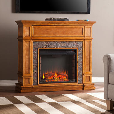 Webster Stone Electric Fireplace Sam 39 S Club