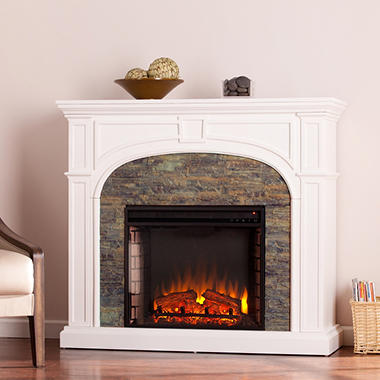 Winsted Stone Electric Fireplace Sam S Club