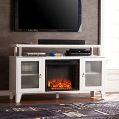 Matrix Electric Fireplace Media Console