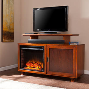 Parker Electric Fireplace Media Console