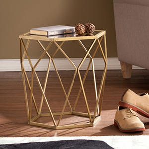 Carolina Geometric Accent Table