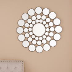 Circles Decorative Wall Mirror