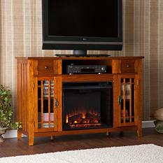 Piet Electric Fireplace Media Console