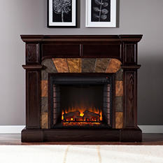Bashard Electric Fireplace - Classic Espresso