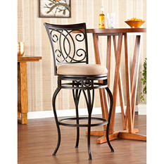 "Novali Swivel 30"" Bar Stool"