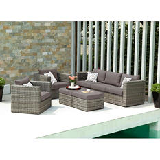 Harlow 5-Piece Outdoor Deep Seating Set