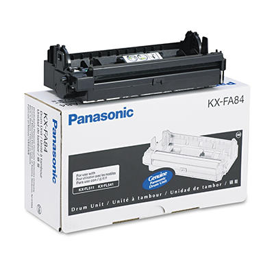 Panasonic KX-FA84 Drum Unit, Black (10,000 Yield)