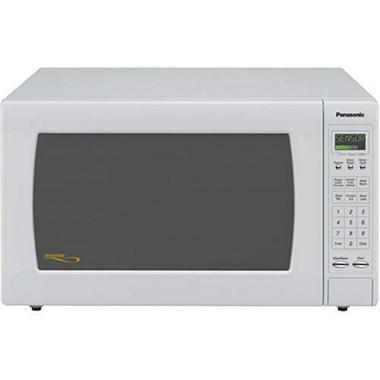 Panasonic 2.2 cu. ft. 1250 Watt Countertop Microwave - White