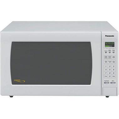 Panasonic 2.2 cu. ft. 1250 Watt Countertop Microwave - White