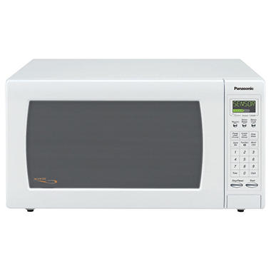 Panasonic 1.6 cu. ft. 1250 Watt Countertop Microwave - White