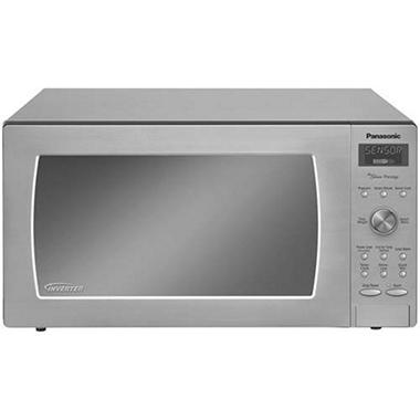 Panasonic 2.2 cu. ft. 1250 Watt Countertop Microwave - Stainless Steel
