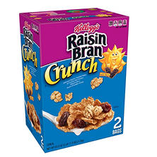 Raisin Bran Crunch Cereal (43.3 oz.)