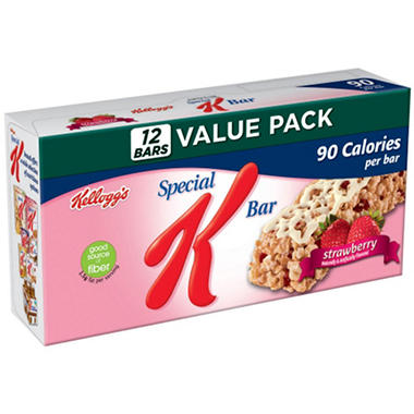 Kellogg's® Special K® Bars - Strawberry - 12 count