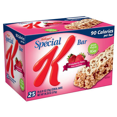 Kellogg's Special K Strawberry Bars