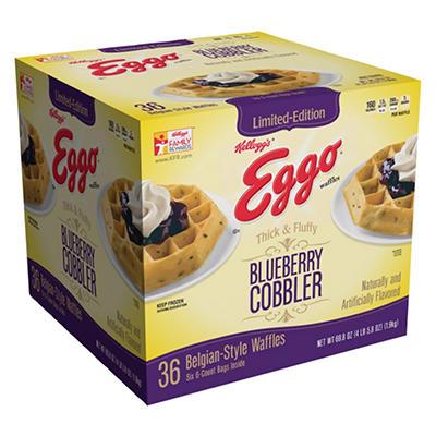 Eggo Belgian-Style Waffles (36 ct.)