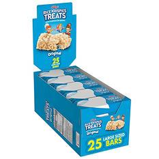 Kellogg's Rice Krispies Treats (1.3 oz. bars, 25 ct.)