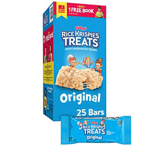 Kellogg's Rice Krispies Treats (1.3 oz. bars, 25 ct.)