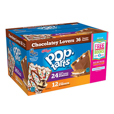 Kellogg's Pop-tarts Chocolatey Lovers (36 ct,)