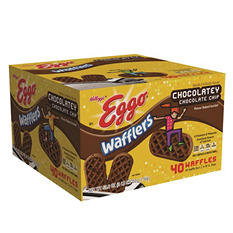 Kellogg's Eggo Chocolatey Wafflers (53.6 oz., 40 ct.)