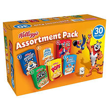 Kellogg's Jumbo Assortment Pack (32.7 oz., 30 ct.)