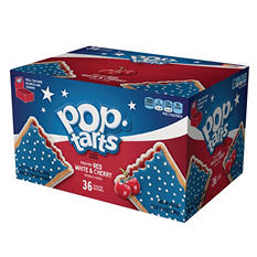 Pop-Tarts, Patriotic Frosted Red White and Cherry (36 ct.)