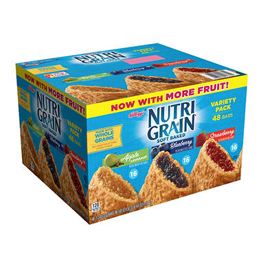 Kellogg's� Nutri-Grain� Variety Pack 1.3 oz. - 48 ct.