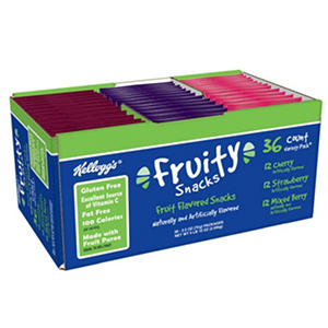 Kellogg's Fruity Snacks Variety Pack (36 ct.)