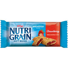 Kellogg's Nutri-Grain Bars, Strawberry (1.3 oz.,16 ct.)