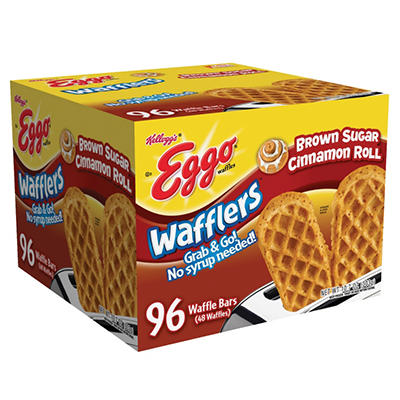 Eggo Brown Sugar Cinnamon Wafflers, 96 Count