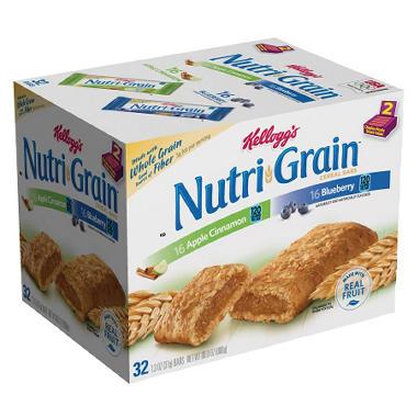 Kellogg's Nutri-Grain Bars - Variety - 32 ct.