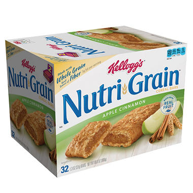 Kellogg's Nutri-Grain Bars - Apple - 32 ct.