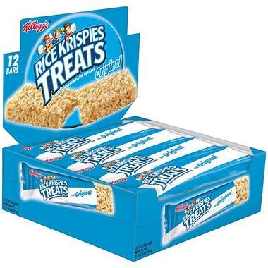 Kellogg's Rice Krispies Treats Original Big Bars - 12 ct. - 26.4 oz.